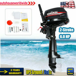 Hangkai 6hp 2-stroke Outboard Motor Fishing Boat Engine Cdi Water Cooling System