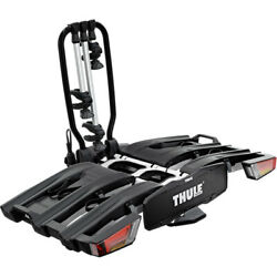 Thule 934 Easyfold Xt 3-bike Towball Carrier With Acutight Torque Knobs 13-pin