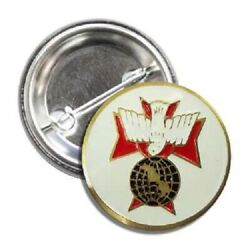 2 Knights Of Columbus 4th Degree Buttons