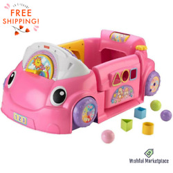 Interactive Laugh Learn Crawl Around Car Toddlers 75+ Sing-alongs Free Shipping