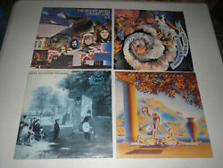 The Moody Blues - Question Of Balance / Caught Live + 5 / The Present 5 Lp Lot