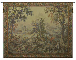 Autumn-winter Automne-hiver French Tapestry Wall Art Hanging New 62x86 Inch