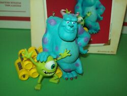 Hallmark Sulley And Mike Monsters Inc 2002 Disney Pixar Ornament Tested