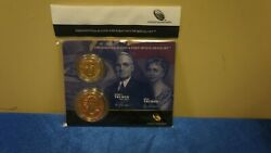 Presidential 1 Coin And First Spouse Medal Set. Harry S And Bess Truman.