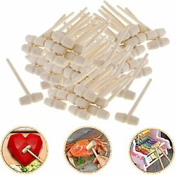 Wooden Hammers For Chocolate Easter Eggs Mini Mallet For Seafood Parties Crafts