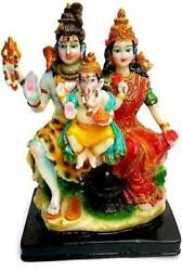 Shiv Privar Idol For Home Temple Poojan Use Office Temple Gifted Use Ite
