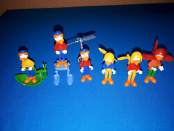Vintage Kinder Ferrero Egg Toys 1989 Disney Donald Duck And His Friends