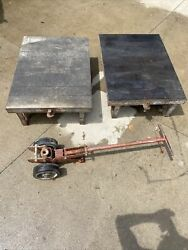 Colson Corporation Industrial Timken Warehouse Railroad Cart With Dolly Handle