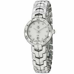 Tag Heuer Womenand039s And039linkand039 Silver Dial Stainless Steel Quartz