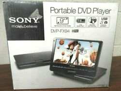 Sony Dvp-fx94 Portable Dvd And Cd Player - 9 Widescreen And Wireless Remote