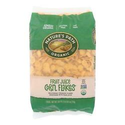 Nature's Path Organic Corn Flakes Cereal - Fruit Juice Sweetened - Case Of 6 - 2