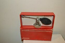 Antique Vaporizer Glass With Perfume Devilbiss Atomizer N° 127 1950/60