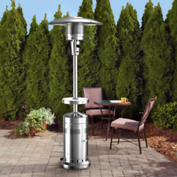 Patio Heater With Led Table 48,000 Btus W/ Easy-start Electronic Ignition