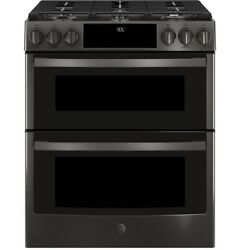 Ge Profile Pgs960belts 30 Slide-in Gas Double Oven Convection Range
