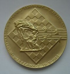 Polish Poland Composer Frederic Chopin Pianist Music 1983 Year Medal Gilding