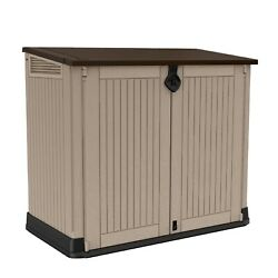 Keter Store-it-out Midi 30-cu Ft Resin Storage Shed All-weather Plastic Outdoors