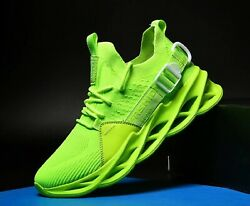 Mens Lightweight Breathable Sports Walking Fitness Gym Sneakers Shoes 6 Colors