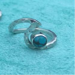Drastic Silver 925 Wave Turquoise Ring Jewellery Import