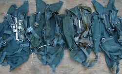 Group Of Four 4 Ba-22 Parachute Packs Harness Us Military Surplus Capewell
