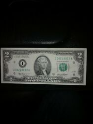 Amazing Ghost Face One Of A Kind 2003 2 Ink Smear Error Note.andnbsp