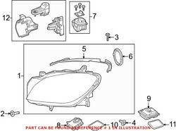 Genuine Oem Front Right Headlight Assembly For Mercedes 1668201259