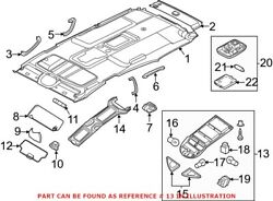 Genuine Oem Reading Light For Nissan 26430zq82a