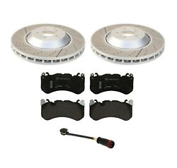 Genuine Oem Front Brake Disc Rotors And Brake Pads With Sensor For Mercedes X253