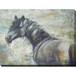 On The Wind Giclee Stretched Canvas Wall Art Extra Large