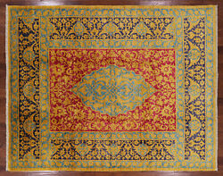 7and039 10 X 10and039 0 William Morris Handmade Wool Rug - P3809