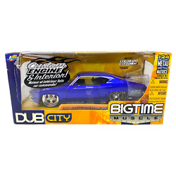 Jada Toys Dub City Bigtime Muscle 1969 Chevy Chevelle Ss 124 Diecast Metal