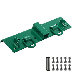 Vevor Compact Bolt On Grab Hook Tractor Bolt On Hooks 1/4and039and039 Thick D Ring 1/2and039and039
