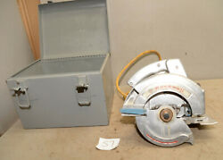 Rockwell Porter Cable No 346 Heavy Duty Circular Saw Collectible Builder Tool S7