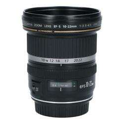 Canon Ef S10 22mm F3.5 4.5usm Secondhand