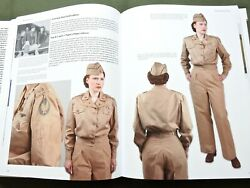 Signed Women For Victory Vol. 1 Us Ww2 Flight Nurse Jacket Cap Reference Book