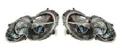 Left Right Genuine Bi-xenon Headlights Lamps Pair Set For Benz R230 Code 614 Mb