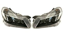 Left And Right Genuine Bi-xenon Headlights Lamps Pair Set For Mb R230 W/o Igniter