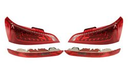 Left And Right Upper And Lower Marelli Led Tail Lights Lamps Kit For Audi Q5 09-11