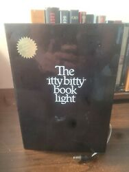 Vintage 1982 Zelco The Itty Bitty Book Light With Spare Bulb-it Works
