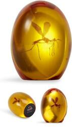 Jurassic Park Collectible Mosquito In Amber Resin Paper Weight Prop Replica
