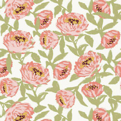 Opal House Removable Peel Stick Wallpaper X2 Floral Green 27.5 Sq Ft each NEW