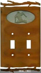 Rustic Skier Switch Plates Wall Plates And Outlet Covers