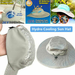 Arctic Hat Hydro Cooling Bucket Hat Uv Protection Ice Cap Outdoor Working Must