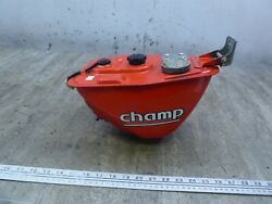 1979 Yamaha Lc50 Champ Y766-1 Red Gas Fuel Petrol Tank Oil Reservoir With Caps