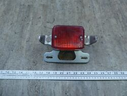1979 Yamaha Lc50 Champ Y766-1 Rear Brake Tail Light With Mount Bracket Works