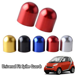Red Universal Bump Protector Spike Guards For Auto Car Front And Rear Bumpers A