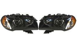 Pair Set Left And Right Genuine Bi-xenon Adaptive Headlights Lamps For Bmw E83 X3