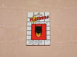 Vintage 1989 Dc Comics Batman Flashers The Pin That Blinks  New Old Stock