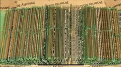 2lb Scrap Memory Ram Board Gold Fingers - Chips Attached For Gold Recovery