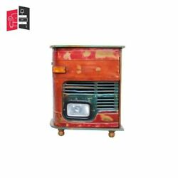 Made To Order Indian Inspired Transport Wooden Truck Mini Bar Cabinet
