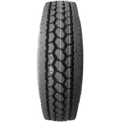 4 Tires Lancaster Dl370 285/75r24.5 Load G 14 Ply Drive Commercial